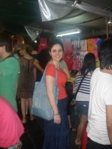 سوق بانكوك الشعبي في تايلاندا