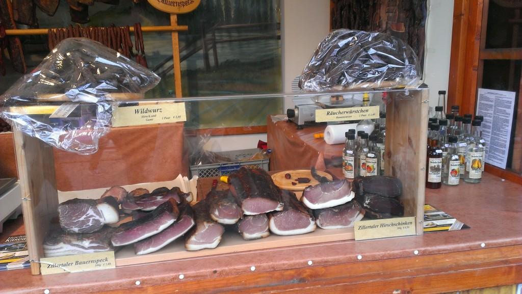 اللحم المقدد أيضاً من أحب المأكولات على قلب الألمان ومعدتهم وبخاصة في الشتاء